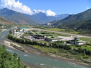 Paro District - Paro Airport