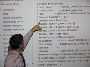Participants in the Wikipedia and Legislative Data workshop 04.jpg