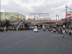 EDSA (road) - The intersection of EDSA and Taft Avenue.