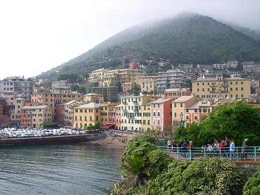 Passeggiata Anita Garibaldi Genova nervi 02