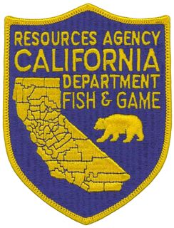 California Department of Fish and Wildlife government agency in California