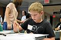 Patients, survivors and family members participate in Oncology on Canvas 130419-N-PJ759-003.jpg