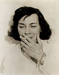 Patricia Highsmith, cirka 1962.