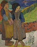 Paul Gauguin - Two Breton Girls by the Sea - Google Art Project.jpg