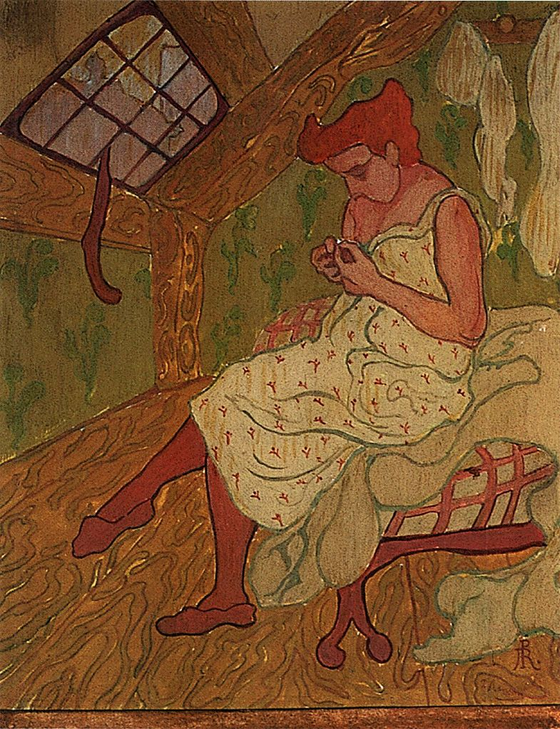 ranson women Women in the wood, 1892 reproduction by paul-elie ranson - artchivecom - the word's largest virtual museum featuring the largest collection of paintings by artists.