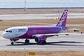 Peach Aviation ,MM35 ,Airbus A320-214 ,JA814P ,Departed to Kaohsiung ,Kansai Airport (16475560629).jpg