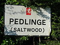 Pedlinge-sign.JPG
