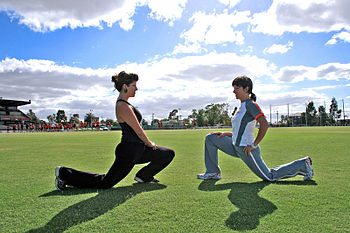 Personal Training Outdoors - Lunges Category:F...