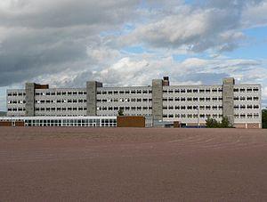 Perth High School - Perth High School is a four-storey building