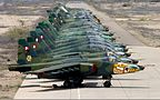 Peruvian Air Force Sukhoi Su-25 lineup Lofting.jpg