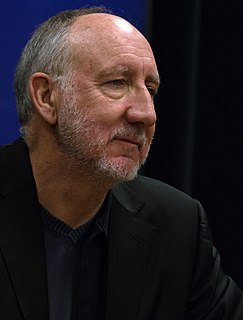 Pete Townshend English rock guitarist of The Who, vocalist, songwriter and author