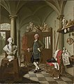 Peter Jacob Horemans - Der Bildhauer Charles de Grof in seinem Atelier - 2952 - Bavarian State Painting Collections.jpg