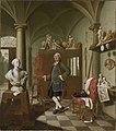 Peter Jacob Horemans - Der Bildhauer Charles de Grof in seinem Atelier - 2952 - Bavarian State Painting Collections.jpg