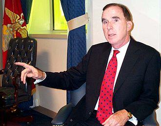 Peter Murphy (JAG) - Murphy in the Pentagon