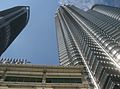 Petronas Towers, looking up (3559740356).jpg
