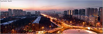 Khovrino District - Petrozavodskaya Street in Khovrino District
