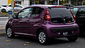 Peugeot 107 68 Envy (2. Facelift) – Heckansicht, 23. September 2012, Ratingen.jpg