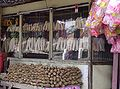 Peuyeum for sale in a kiosk in West Java.jpg