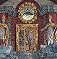 Pfärrich Pfarrkirche Hochaltar Relief Kreuzabnahme.jpg