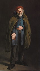 Édouard Manet: Beggar with a Duffle Coat (Philosopher)