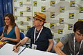Phineas and Ferb Signing with Alyson Stoner, Jeff Swampy Marsh and Vincent Martella (9404682917).jpg