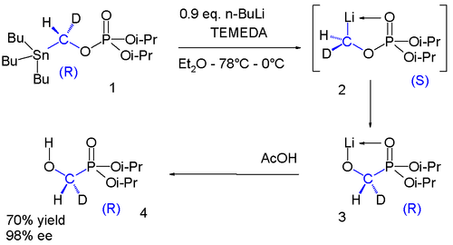 Chiral -Oxy-[2H1]methyllithiums, Bu stands for butyl, i-Pr stands for isopropyl