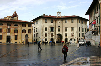 Scuola Normale Superiore di Pisa - Piazza dei Cavalieri