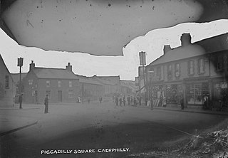 Piccadilly Square, Caerphilly