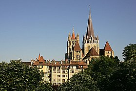 Image illustrative de l'article Cathédrale de Lausanne