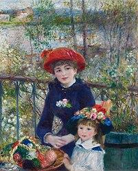 Pierre-Auguste Renoir: Auf der Terrasse
