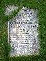 Pierre tombale, cimetière Long Pond.JPG