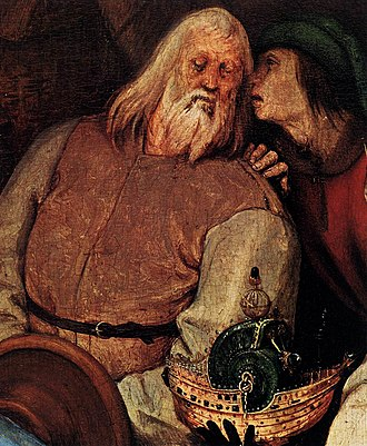 The Adoration of the Kings (Bruegel) - Image: Pieter Bruegel the Elder The Adoration of the Kings (detail) WGA3463