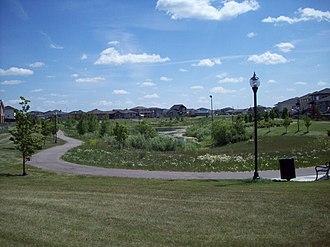 Pilot Butte, Saskatchewan - Park on Pilot Butte Creek