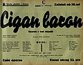 Plakat za predstavo Cigan baron v Narodnem gledališču v Mariboru 10. februarja 1940.jpg