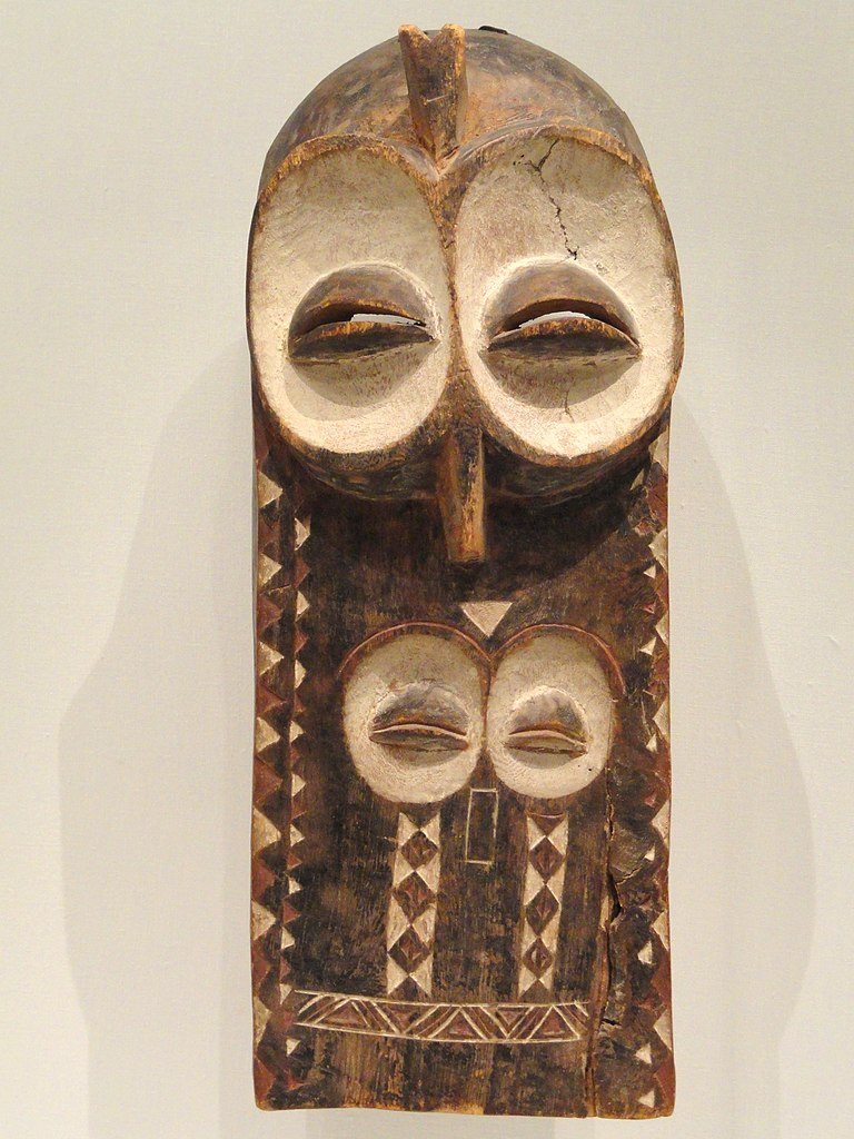 File Plank Mask Emangungu Possibly Early 1900s Central