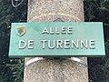 Plaque Allée Turenne - Aulnay Bois - 2020-08-22 - 2.jpg