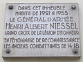 Plaque Henri Albert Niessel 34 boulevard des Invalides.jpg