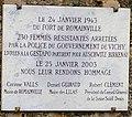 Plaque convoi des 31000 Fort de Romainville.jpg