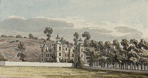 Plas Teg - Plas Teg circa 1778