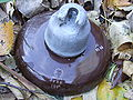Plate ceramic Electric insulator.JPG