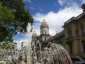 Cathedral Basilica of the Immaculate Conception (Mérida, Venezuela) - Image: Plaza Bolívar de la Ciudad de Mérida