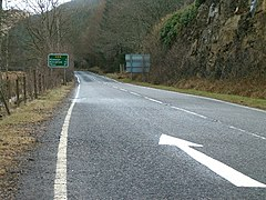 Please drive on the left in Argyll - geograph.org.uk - 144953.jpg