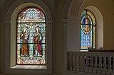 Poertschach Pfarrkirche hl Johannes Chor-Glasfenster Sponsor Josef Rapatz 20082015 1464.jpg