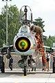 Polish Su-22 at Świdwin Air Picnic 2012 front view.jpg