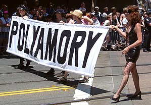 English: Polyamory contingent at San Francisco...
