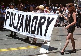 Polyamory - Start of polyamory contingent at San Francisco Pride 2004