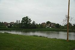 Pond Vybíral in Hvězdoňovice, Třebíč District.JPG