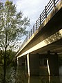 Pont sur le Vieux Rhône, Parc de Miribel-Jonage.JPG