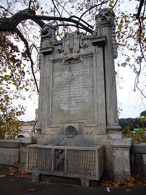 Tor di Nona - Memorial to the Teatro Apollo