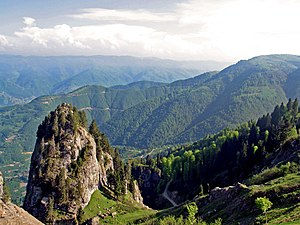 Comana Pontica - The Pontic Alps which divided the kingdom.
